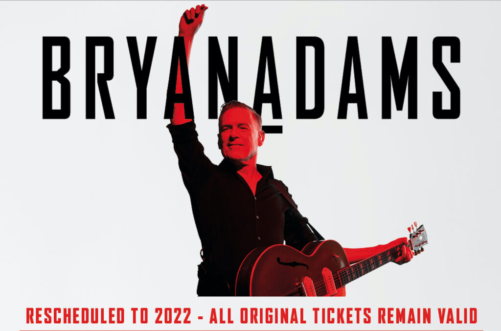2021 UK Summer Tour moved to 2022