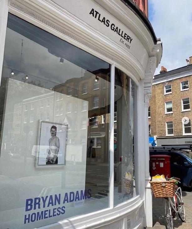 Homeless Exhibit at London's Atlas Gallery